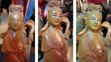 wooden guanyin 32