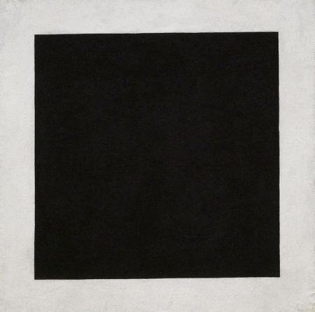Black Square, around 1923. Oil on Canvas, 106 x 106 cm Sch-9484.