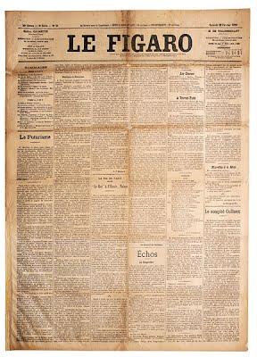 Le Figaro, Le Futurisme (1909)